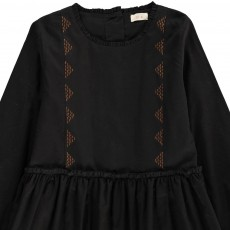 Ketiketa Stella Embroidered Dress with Buttoned Back-listing