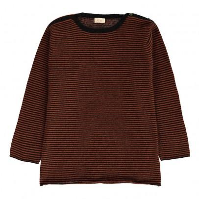 Ketiketa Maglione Cashmere Righe Collo Camicia-listing