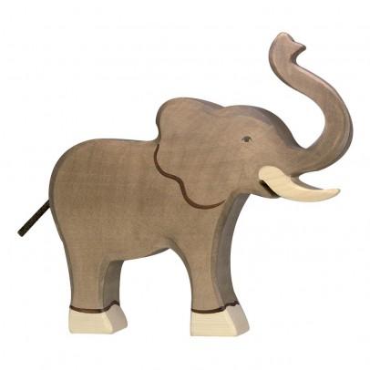 Holztiger Statuetta in legno Grande Elefante-listing
