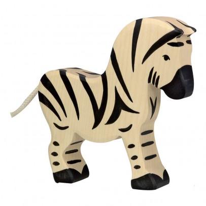 Holztiger Statuetta in legno Zebra-listing