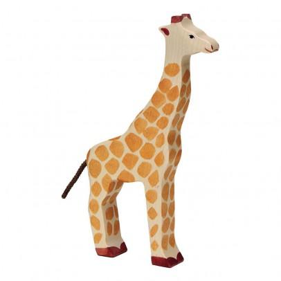 Holztiger Statuetta in legno Giraffa-listing