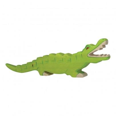 Holztiger Holzfigürchen Krokodil -listing