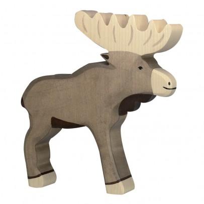 Holztiger Wooden Elk Figurine-listing