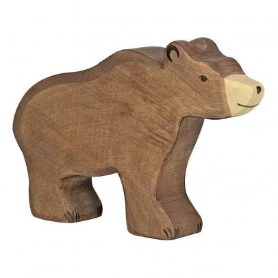 Holztiger Statuetta in legno Orso-listing