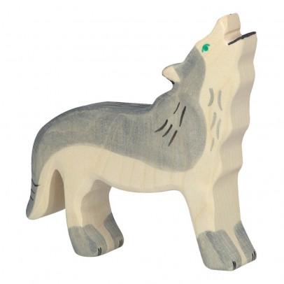 Holztiger Holzfigürchen Wolf -listing