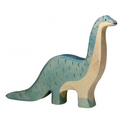 Holztiger Statuetta in legno Brontosauro-listing