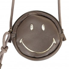 Easy Peasy Easy Peasy X Smiley Ronron Smiley Leather Shoulder Bag-listing