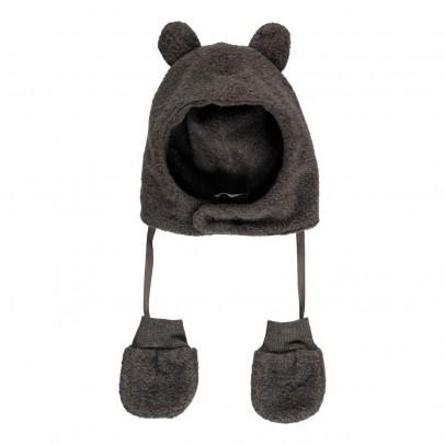 1+ IN THE FAMILY Bonnet Oreilles   Moufles Polaires Linus-listing