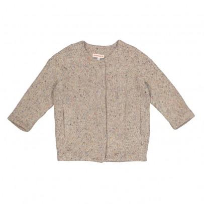 ANNE KURRIS Marl Fleck Bunny Coat-listing