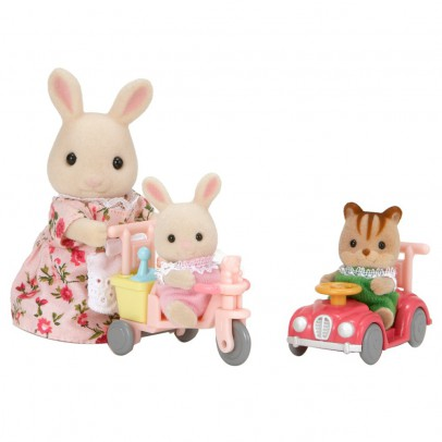 Sylvanian Dreirad und Miniauto Babys-listing