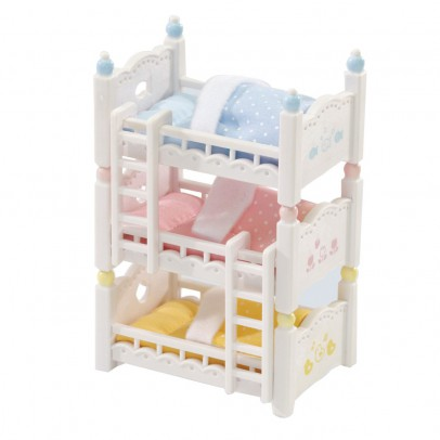 Sylvanian 3-Layer Baby Bunk Beds-listing