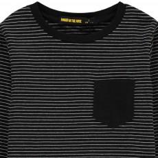 Finger in the nose Longjohn Stripe T-Shirt with Pocket-listing
