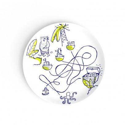 Non Sans Raison Kids Assiette à dessert Les trois chemins-listing