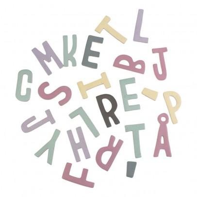 Sebra Set de letras magnéticas en madera niña-listing