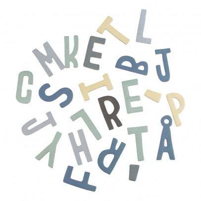 Sebra Set de letras magnéticas en madera niño-listing