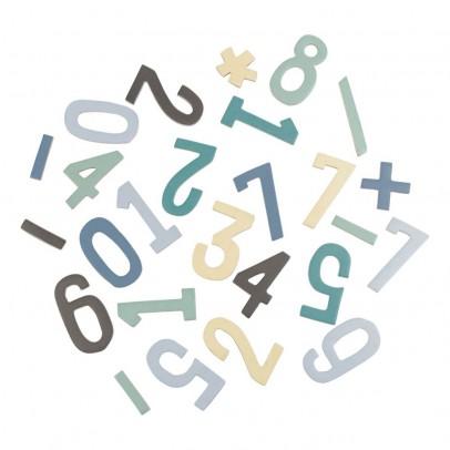 Sebra Set de chiffres magnétiques en bois garçon-listing