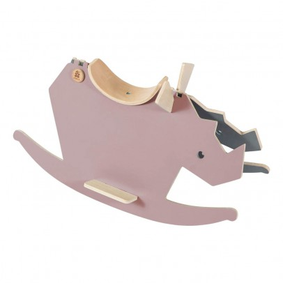 Sebra Wooden Swing Rhino-product