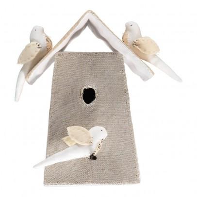 Tamar Mogendorff Vogelhäuschen mit 3 Vögel -listing