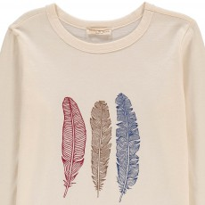 Babe & Tess Feathers T-Shirt-listing