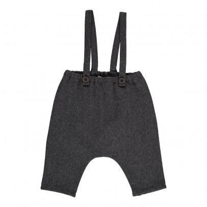 Babe & Tess Herringbone Trousers with Braces-listing