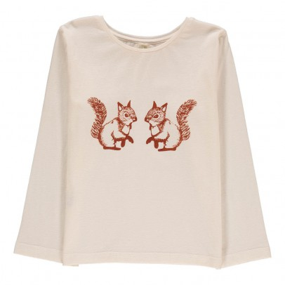 Ketiketa Baby Squirrel Organic Cotton T-Shirt-listing