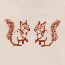 Ketiketa T-Shirt Coton Bio Ecureuils Bébé-listing