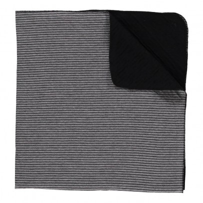 1+ IN THE FAMILY Tula Striped Blanket-listing