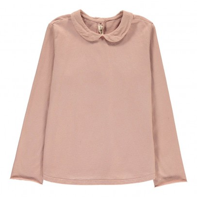 Babe & Tess Blouse Coton Col Claudine-listing
