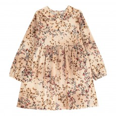 product-Babe & Tess Claudine Collar Flower Dress