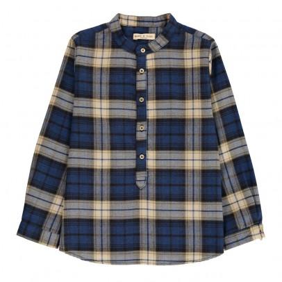 Babe & Tess Check Kurta Shirt-listing