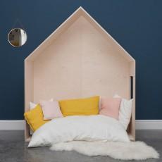 Blomkal Kopfteil Hütten-Bett-listing
