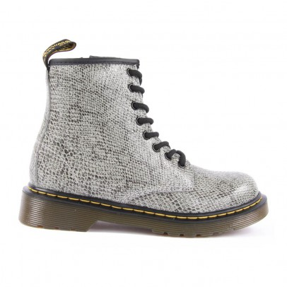 Dr Martens Boots Cuir Effet Python Zippées Delaney-listing