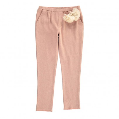 Douuod Knitted Paguro Sweatpants with Pompom-listing
