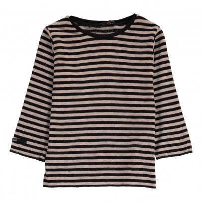 Album di famiglia Striped Wool Millo T-Shirt-listing