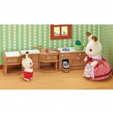 Sylvanian Kitchen Stove, Sink & Counter Set-listing