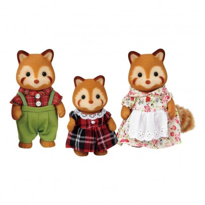 Sylvanian Robinson Red Panda Family-listing