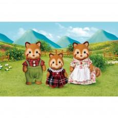 Sylvanian Famiglia Panda Rosso-listing