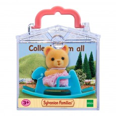 Sylvanian Baby Carry Case Bear on Rocking Horse-listing
