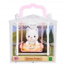 Sylvanian Köfferchen Babykatze und Wippe-listing