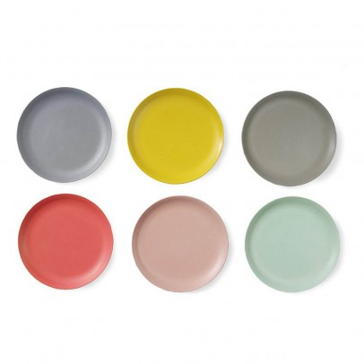 Engel Bamboo Dessert Plates - Set of 6-listing