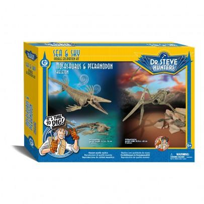 Dr Steve Hunters Mosasaurus & Pteranodon Archeology Kit-listing