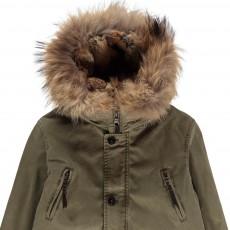 Blonde No.8 Aspen Parka with Fur Hood-listing