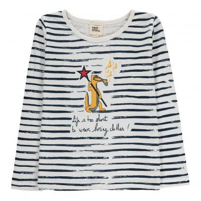 Le Petit Lucas du Tertre T-Shirt Rayé Crocodile Alex-listing