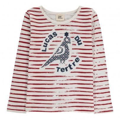 Le Petit Lucas du Tertre T-Shirt Rayé Oiseau Alex-listing