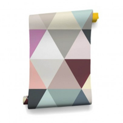 Bien Fait Carta da parati Mosaic Soft 182x280 cm - 2 fogli-listing