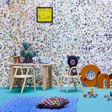 Bien Fait Papier-peint Stardust 364x280 cm - 4 lés-listing