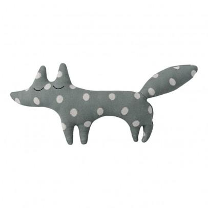Bloomingville Kids Polka Dot Fox Cushion 35cm-listing