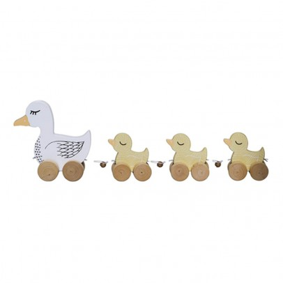 Bloomingville Kids Pull Along Duck Family-product