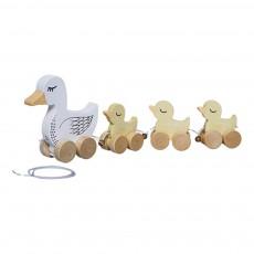 Bloomingville Kids Familie Ente zum ziehen-product