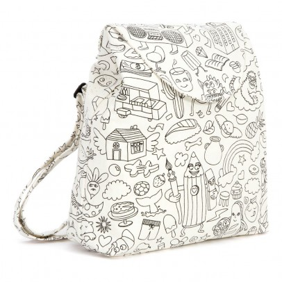 Omy Colour In Backpack -100% Cotton-listing
